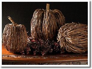 Twig Pumpkins