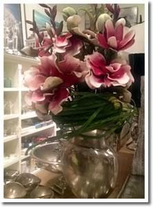pre-made silk floral arrangements