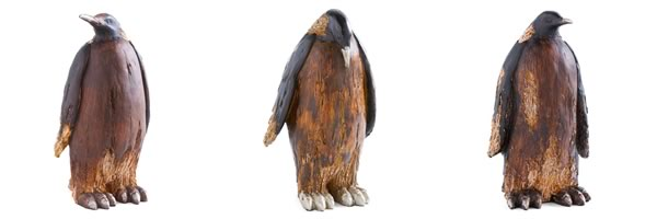 Wooden Penguins