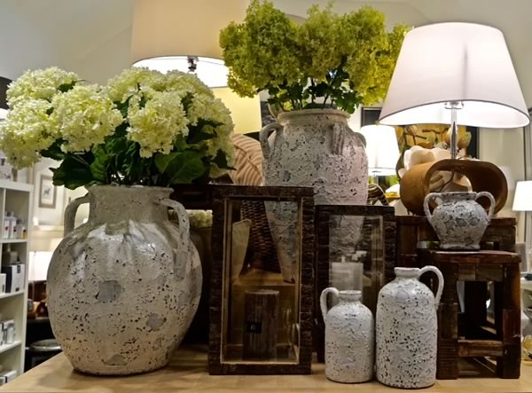 Crackle Vases and Urns